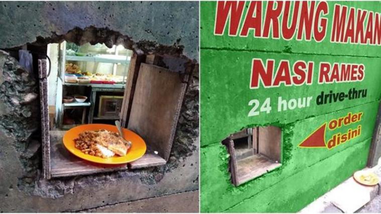 Mirip Fast Food, Warteg Kini Ada Sistem Drive Thru dengan Kearifan Lokal! | Keepo.me