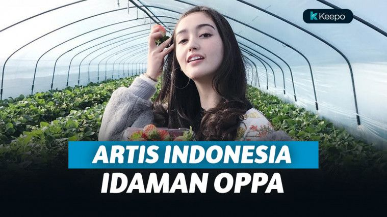 Artis Indonesia idaman oppa Korea