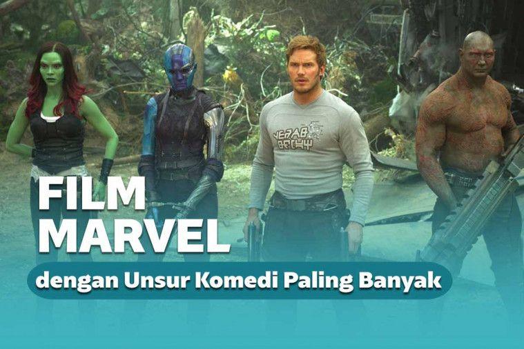Mirip Film Lawak, 5 Film Marvel ini Memiliki Adegan Komedi Paling Banyak | Keepo.me