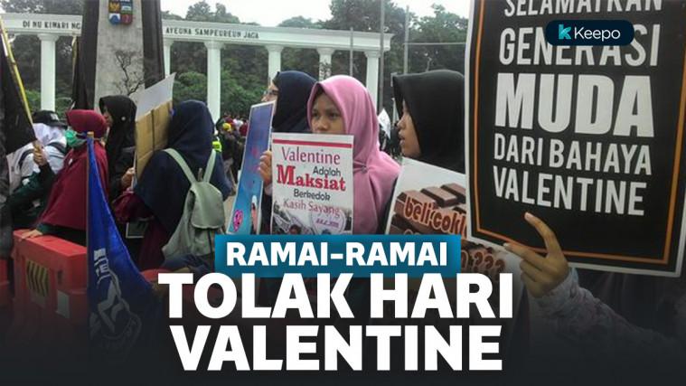 Penolakan Hari Valentine