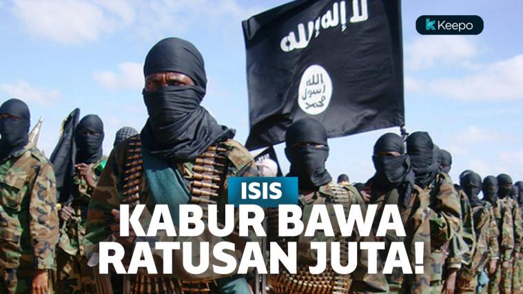 ISIS Kabur Bawa Uang Ratusan Juta Dollar ke Pegunungan, Ternyata Makin Terdesak Amerika! | Keepo.me