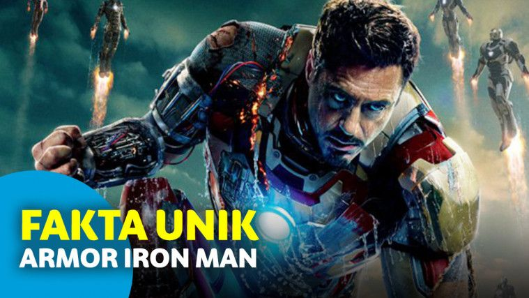 7 Fakta Tersembunyi dari Kostum Iron Man MIlik Tony Stark | Keepo.me
