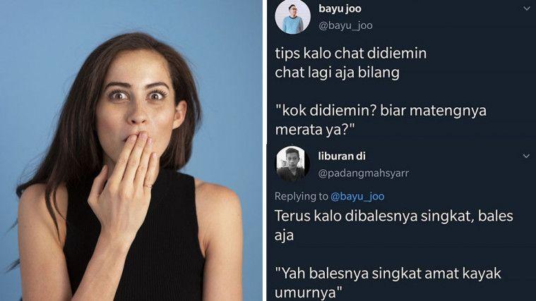 Cara Cara Netizen Balas Doi Yang Suka Diemin Chatmu