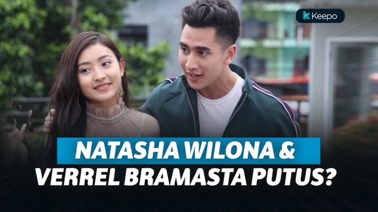 Potret Mesra Verrell Bramasta dan Natasha Willona