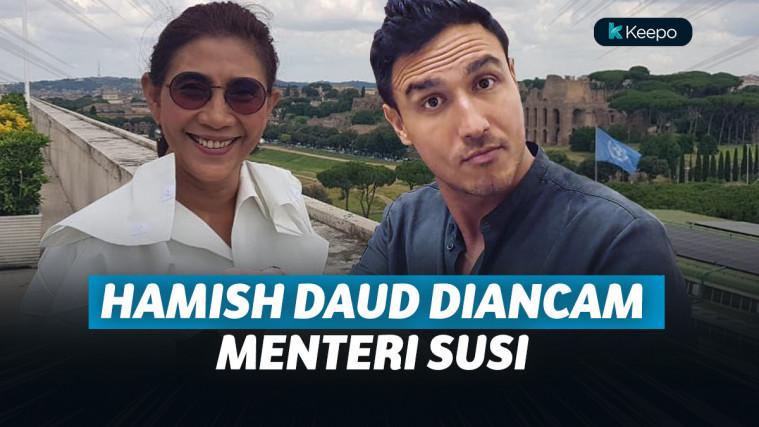 Inilah Ancaman Hamish Daud dari Menteri Susi Pudjiastuti