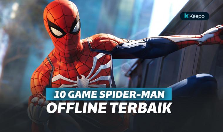 10 game spiderman offline terbaik buat fans spiderman