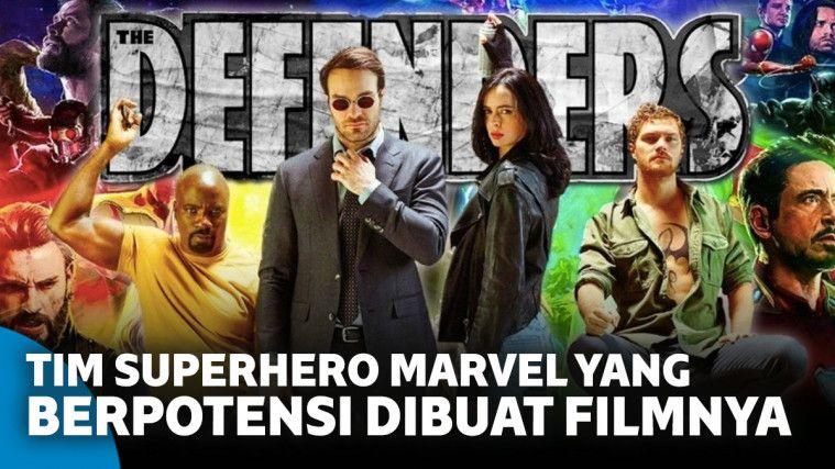 7 Tim Superhero Marvel yang Berpotensi Dibuat Filmnya | Keepo.me