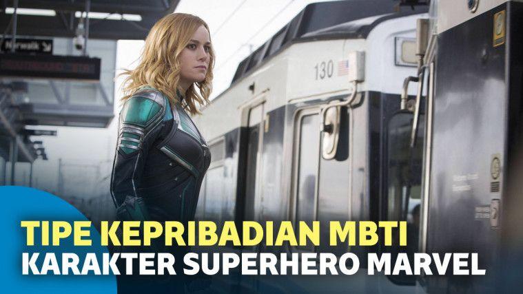 7 Tipe Kepribadian MBTI Karakter Superhero Marvel