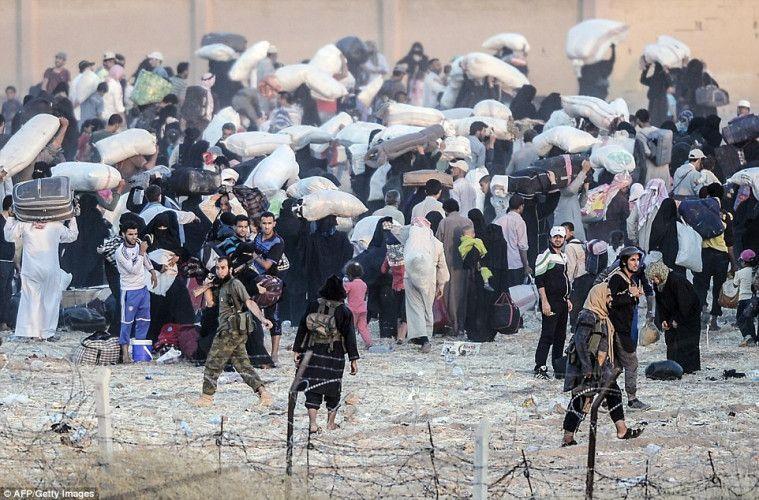 Tragis dan Mengenaskan, Ini Kisah Para Pengungsi ISIS Hidup dalam Peperangan | Keepo.me