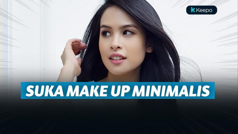 Sederhana dan Natural, 7 Selebriti Wanita Indonesia Ini Gemar Tampil dengan Make Up Minimalis | Keepo.me