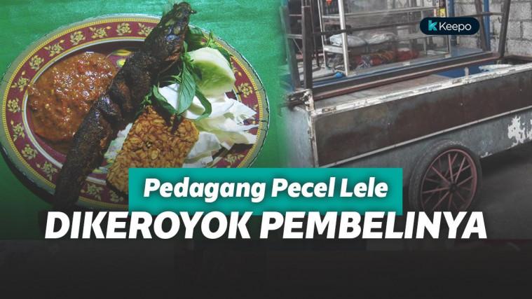 Memasak Kelamaan, Penjual Pecel Lele ini Terpaksa Dibogem Mentah Pembelinya! | Keepo.me