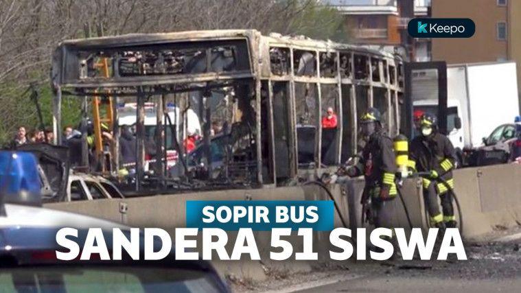 Protes ke Pemerintah, Supir Bus di Italia Sandera dan Ancam Bakar 51 Siswa | Keepo.me
