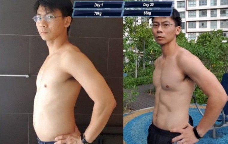 Berkat Diet Ala Saitama dari One Punch Man, Pria Ini Sukses Bertransformasi Menjadi Atletis dan Sixpack | Keepo.me