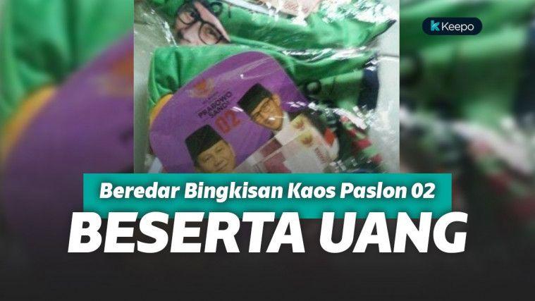 Beredar Foto Bungkusan Kaos Prabowo-Sandi Berisi Rp 200 Ribu di Solo! Serangan Fajar Dini? | Keepo.me