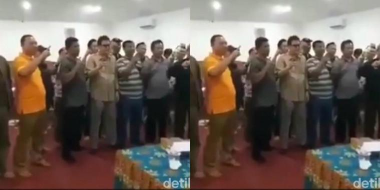 Dukung Jokowi, Video Kades 2 Kecamatan Sukabumi Viral di Medsos! | Keepo.me