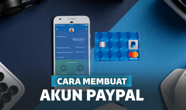 Cara Mudah Membuat Akun Paypal Untuk Transfer Antar Negara