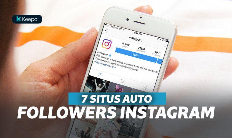 10 Situs Auto Followers Instagram Gratis Yang Aman Dan Terbaik