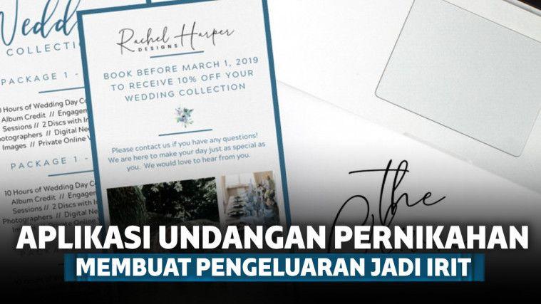 7 Aplikasi Desain Undangan Pernikahan Digital Terbaik
