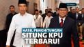 Hasil Situng KPU Prabowo Jokowi