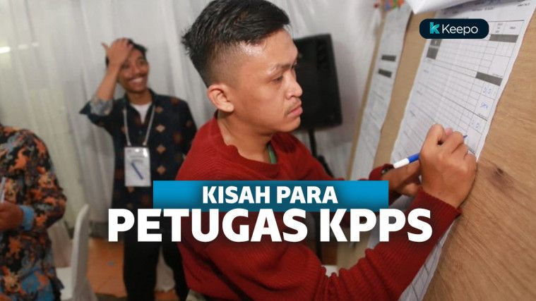 Kisah Petugas KPPS, Kerja Sampai Pagi hingga Honor Sedikit!