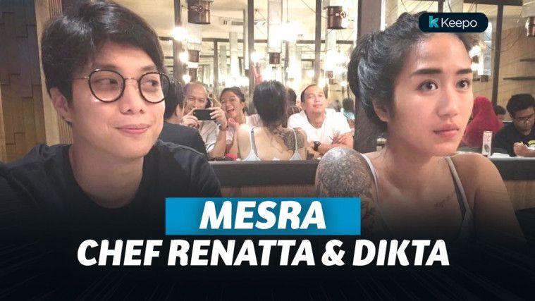 7 Momen Kedekatan Chef Renatta dan Pradikta Wicaksono yang Diam-Diam Mesra | Keepo.me