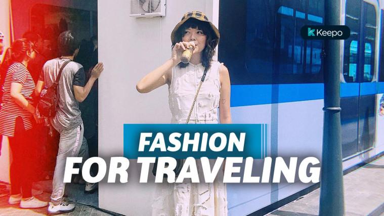 11 Inspirasi Fashion Traveling Terbaik buat Liburan Musim Panas | Keepo.me