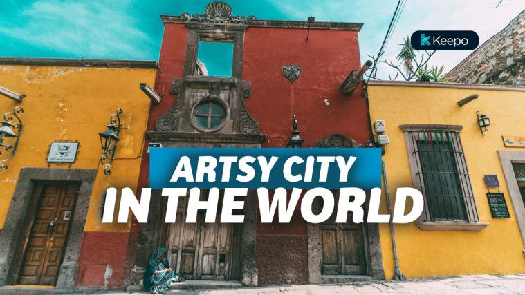 Kota Artsy di Dunia yang Bakal Disukai Para Pecinta Seni