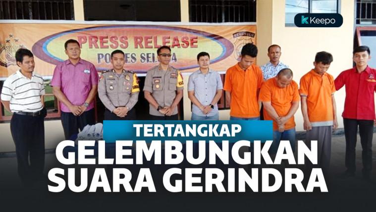 Oknum PPK Ditangkap Polisi Setelah Gelembungkan Suara Caleg Gerindra