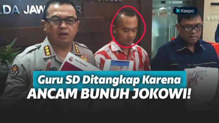 Ancam Bunuh Jokowi, Guru SD di Madura Ditangkap Saat Tengah Mengajar! | Keepo.me