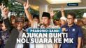 Prabowo-Sandi Ajukan Bukti Nol Suara di TPS ke MK
