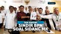 TKN Jokowi Sindir BPN Soal Saksi Sidang MK