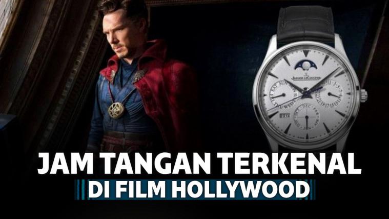 7 Jam Tangan Terkenal yang Muncul di Film Hollywood