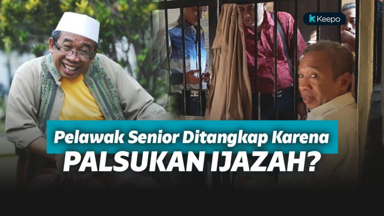 Dijemput Paksa Polisi, Pelawak Qomar Diduga Palsukan Ijazah untuk Jadi Rektor! | Keepo.me