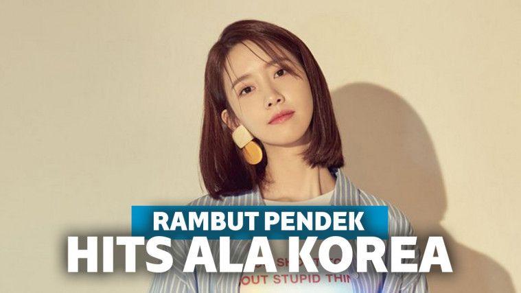 5 Inspirasi Gaya Rambut Pendek Ala Artis Korea