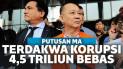 Terdakwa Korupsi BLBI Dibebaskan Mahkamah Agung