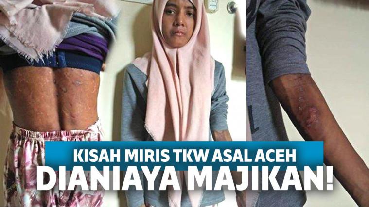 Miris! Nasib Nisa, TKW Asal Aceh yang Dianiaya hingga Dibuang oleh Majikan | Keepo.me