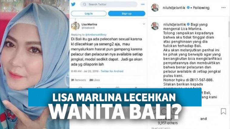 Dianggap Rendahkan Wanita Bali, Lisa Marlina Sebut Kalau Dilecehkan Senang-Senang Saja | Keepo.me
