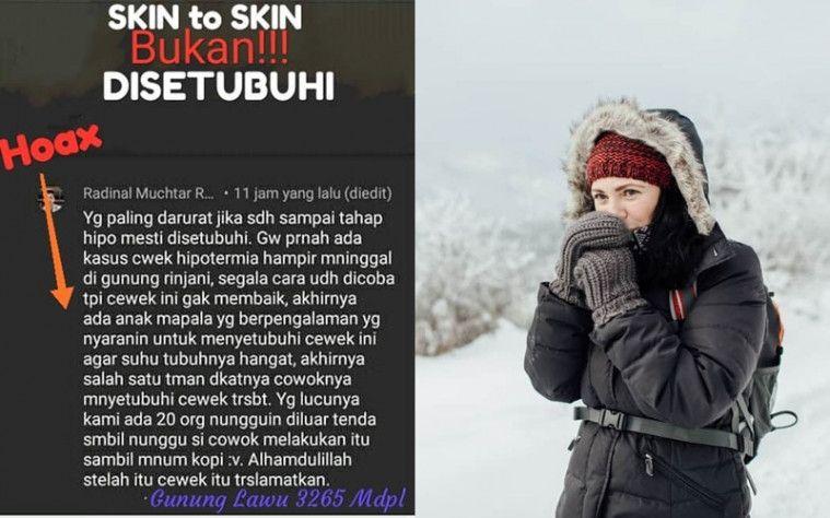 Heboh Pendaki Pria Bersetubuh dengan Pendaki Wanita untuk Sembuhkan Hipotermia Parah | Keepo.me