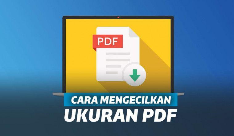 Cara Kompres Pdf Dan Mengecilkan Ukuran File Pdf Online