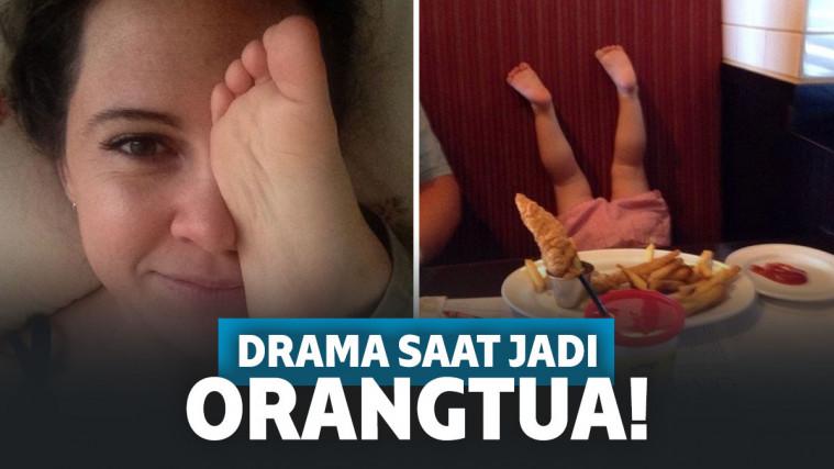 Banyak Drama! 12 Potret Ini Bikin Kalian Sadar Jadi Orangtua Tak Cukup Modal Sabar Saja | Keepo.me