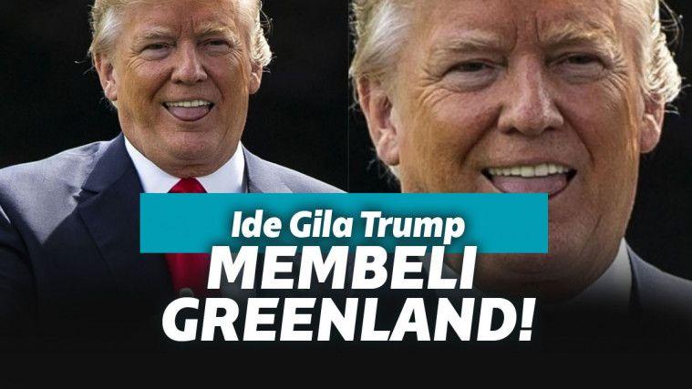 Gila! Penjajahan Gaya Baru! Amerika Serikat Berencana Membeli Greenland! | Keepo.me