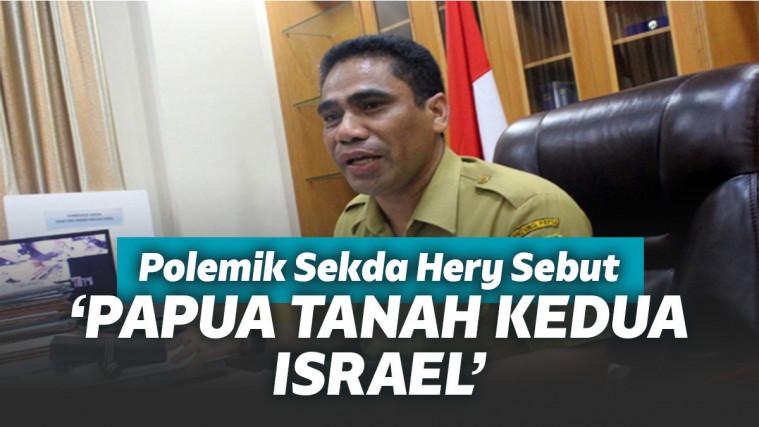 Viral Pernyataan 'Papua Tanah Israel Kedua' Kemendagri Panggil Sekda Hery! | Keepo.me