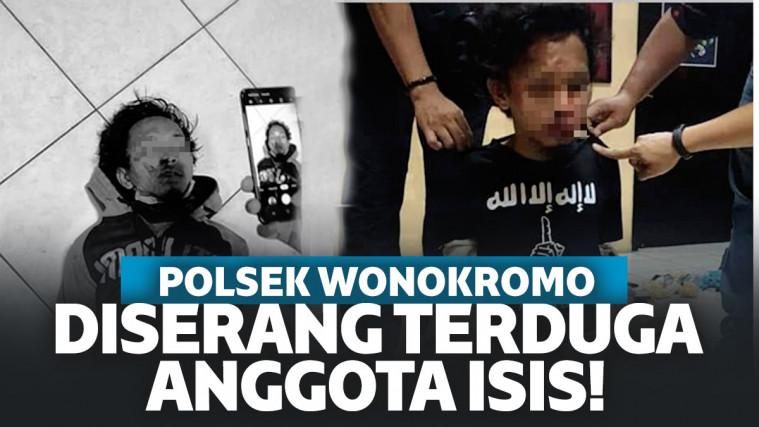 Terduga Anggota ISIS Serang Polsek Wonokromo