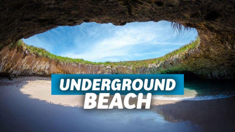 Playa del Amor, Pantai Bawah Tanah yang Ada di Meksiko