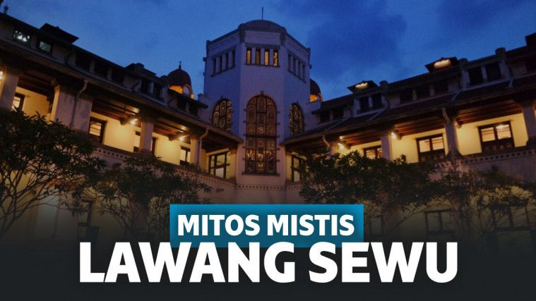 Deretan Sejarah dan Mitos tentang Lawang Sewu, Bangunan Terangker Kedua se-Asia! | Keepo.me