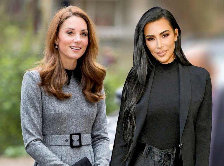 Kate Middleton dan Kim Kardashian Pakai Baju Serupa, Mana yang Lebih Bagus? | Keepo.me