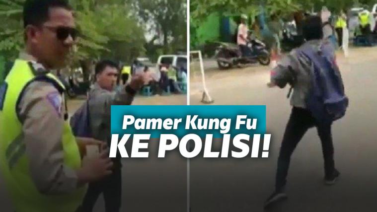 Terjaring Razia, Pemuda ini PamerJurus Silatnya di Hadapan Polisi! | Keepo.me