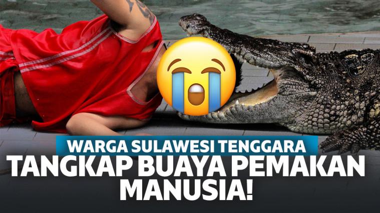 Buaya Pemakan Manusia di Sulawesi Tenggara Tertangkap, Benda Ngeri Ini Ada Di Perutnya! | Keepo.me