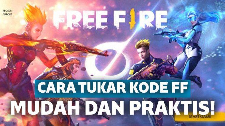 cara dapatkan kode redeem free fire