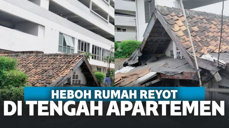 Bak Langit dan Bumi, Begini Kisah Rumah Reyot di Tengah Apartemen Mewah Thamrin! | Keepo.me